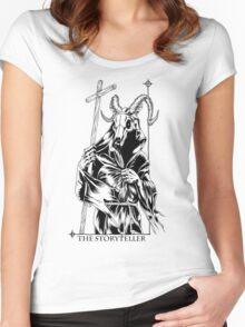 The Storyteller Women's Fitted Scoop T-Shirt