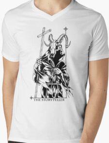 The Storyteller Mens V-Neck T-Shirt