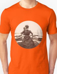 Woman Rowing Unisex T-Shirt