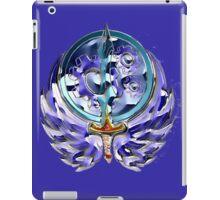 Fallout Brotherhood of Steel logo redrawn iPad Case/Skin