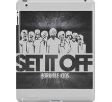 Set It Off - Horrible Kids iPad Case/Skin
