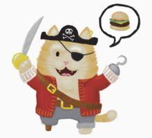 Burger Buccaneer Kids Tee