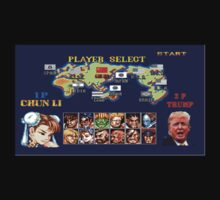Street Fighter Trump Baby Tee