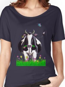 Dairy Cow Women's Relaxed Fit T-Shirt