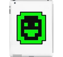 Dwarf Fortress Dwarf (Green on White) iPad Case/Skin