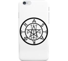 ASTAROTH - solid BLACK iPhone Case/Skin
