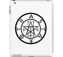 ASTAROTH - solid BLACK iPad Case/Skin