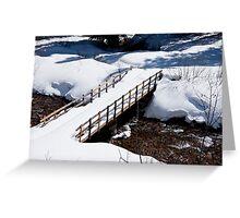 Crystal Creek Crossing Greeting Card