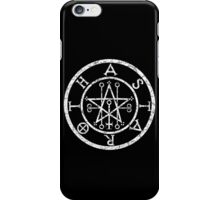 ASTAROTH - distressed white iPhone Case/Skin