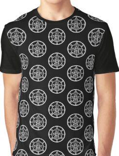 ASTAROTH - distressed white Graphic T-Shirt