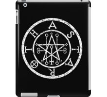 ASTAROTH - distressed white iPad Case/Skin