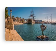 The return of Icarus Canvas Print