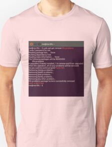 Remove any problem with linux T-Shirt