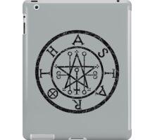 ASTAROTH - distressed black iPad Case/Skin