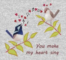 Adorable Birds - You make my heart sing Kids Clothes
