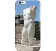 Collosal Torso of Naked Male God in Hadrian Bath of Aphrodisias iPhone Case/Skin