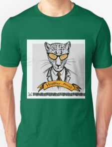 Hand Drawn Fashion Portrait of cheetah Hipster Unisex T-Shirt