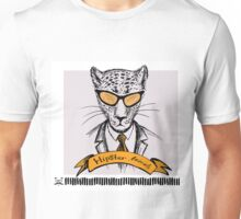 Hand Drawn Fashion Portrait of cheetah Hipster Unisex T-Shirt