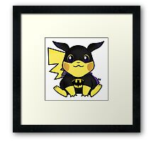 "Batpika "" Bat Pokemon "" Framed Print"
