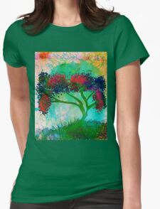 Remixed tree 8 Womens Fitted T-Shirt