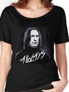 Alan Rickman Women's Relaxed Fit T-Shirt