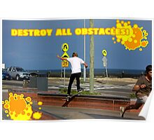 Destroy All Obstacles! Poster