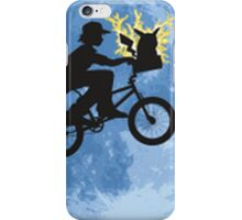 ET movie mashup with Pokemon iPhone Case/Skin