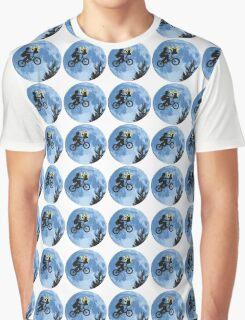 ET movie mashup with Pokemon Graphic T-Shirt