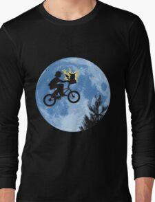 ET movie mashup with Pokemon Long Sleeve T-Shirt