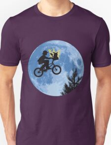 ET movie mashup with Pokemon Unisex T-Shirt