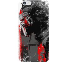 Kylo in the snow iPhone Case/Skin