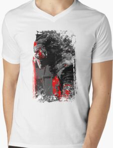 Kylo in the snow Mens V-Neck T-Shirt