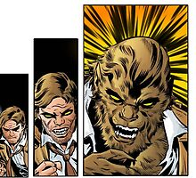 Bigby wolf transformation sequence, from fables / the wolf among us by WordDungeon
