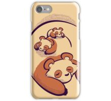 The Pandas Are Sleeping iPhone Case/Skin
