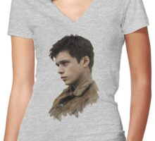 ben parish the 5th wave Women's Fitted V-Neck T-Shirt