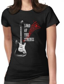 electric guitar, Lord Of The Strings Womens Fitted T-Shirt