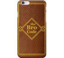 HIMYM - The Bro Code iPhone Case/Skin