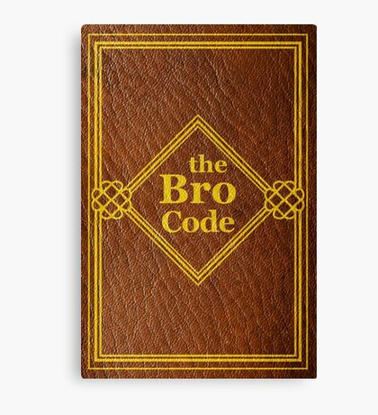 HIMYM - The Bro Code Canvas Print