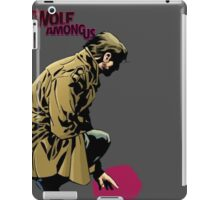 Bigby Wolf- from fables/ the wolf among us iPad Case/Skin