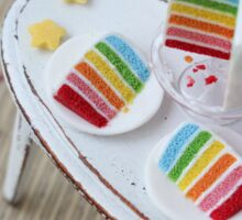 Rainbow Birthday Sticker