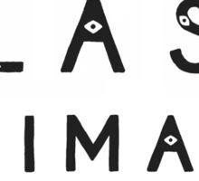 Glass Animals Logo Sticker