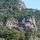The Weathered Façades Of Lycian Tombs by taiche