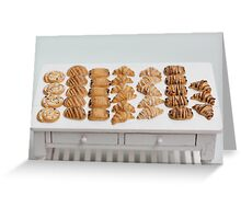 Miniature Croissants for Breakfast Greeting Card