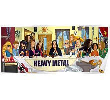 The Heavy Metal Supper Poster