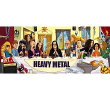 The Heavy Metal Supper Photographic Print