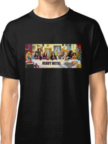 The Heavy Metal Supper Classic T-Shirt