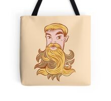 A mighty man beard nesting place Tote Bag