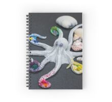 Beriana, Octopus Sculpture Spiral Notebook
