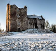 Doune Castle in Central Scotland by Jeremy Lavender Photography