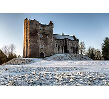 Doune Castle in Central Scotland Photographic Print